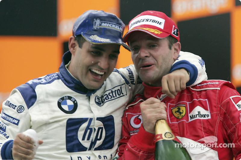 Ganador del GP de Brasil 2004: Juan Pablo Montoya, Williams