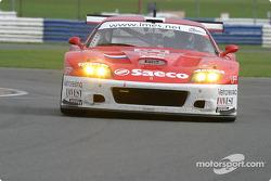 La Ferrari 575 Maranello n°61 du Barron Connor Racing (Thomas Biagi, Danny Sullivan, John Bosch)