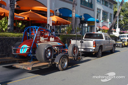 Leighton Crouch's car at Aloha Tower Marketplace