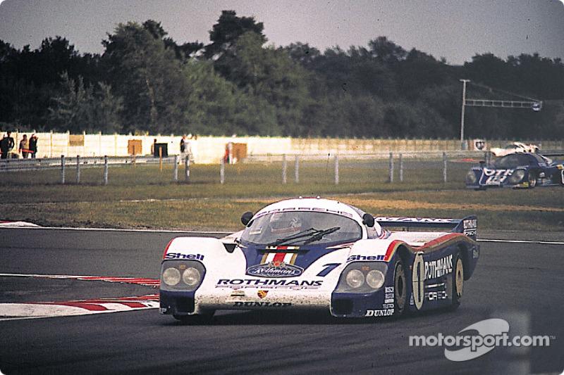 #1 Rothmans Porsche 956: Jacky Ickx, Derek Bell