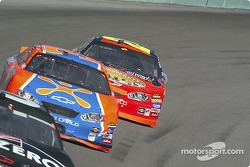 Robby Gordon and Jeff Gordon