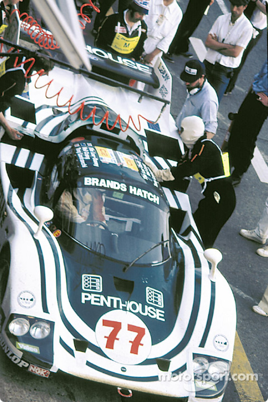 #77 Spice Engineering Tiga GC84 Ford: Neil Crang, Tony Lanfranchi, Tim Lee-Davey