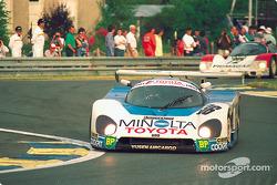 #36 Toyota Team Tom's Toyota 88C: Geoff Lees, Masanori Sekiya, Kaoru Hoshino