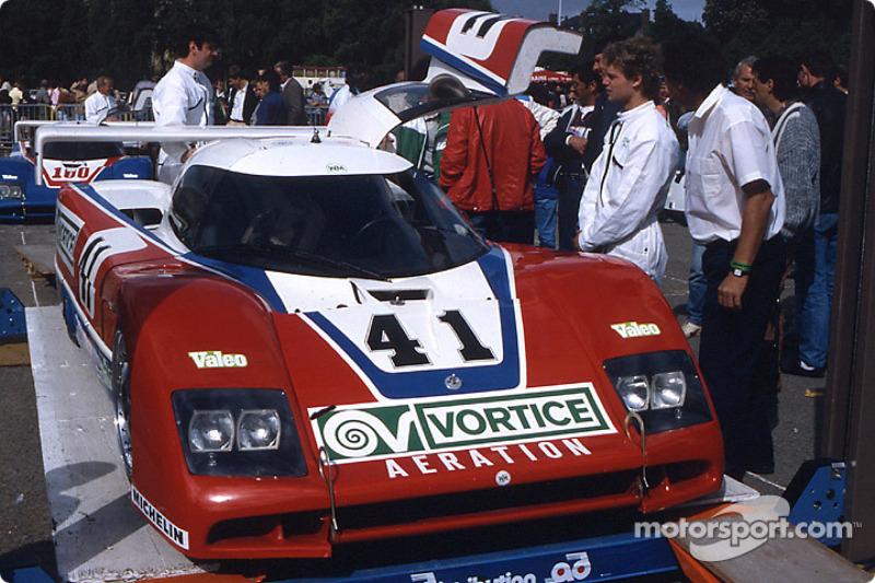 #41 WM Secateva WM P85 Peugeot