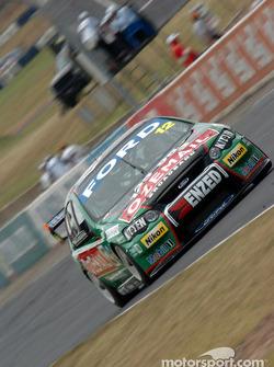 John Bowe on pit straight