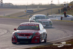 Paul Dumbrell during the closing stages