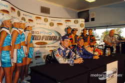 Craig Lowndes, Marcos Ambose and Jason Bright