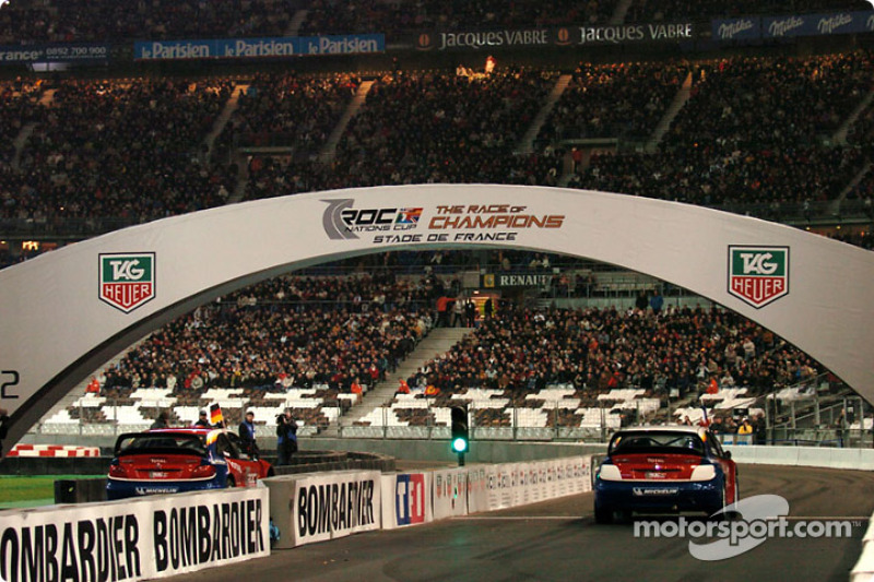 Semi-final: Armin Schwarz and Sébastien Loeb