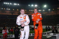 Champagne for Sébastien Loeb and Michael Schumacher