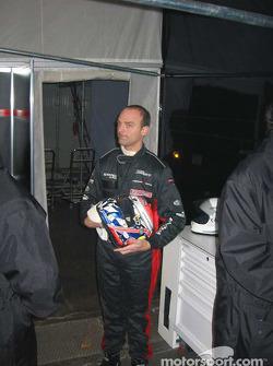 The 2004 FIA GT World Champion, Fabrizio Gollin