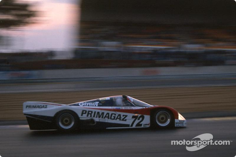 #72 Obermaier Racing Porsche 962C: Jürgen Lässig, Pierre Yver, Paul Belmondo