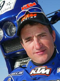 KTM team presentation: Gauloises KTM rider Jean Brucy