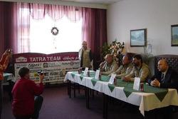 Loprais Tatra presentation: press conference with Karel Loprais, Josef Kalina and Petr Gilar