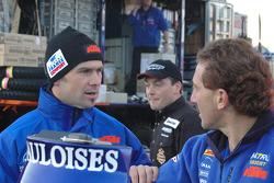 Cyril Despres and Alfie Cox