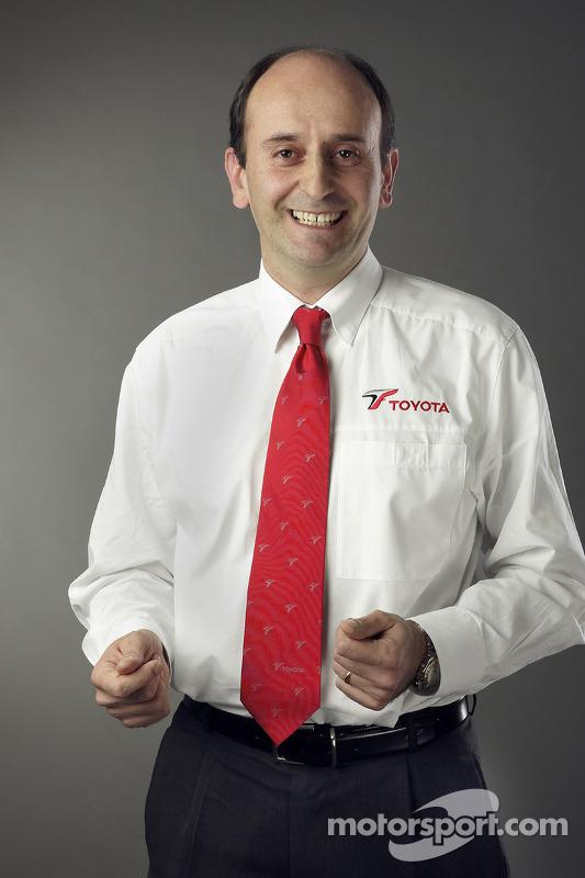 Luca Marmorini, Teknik Direktörü motor Toyota Motorsport GmbH