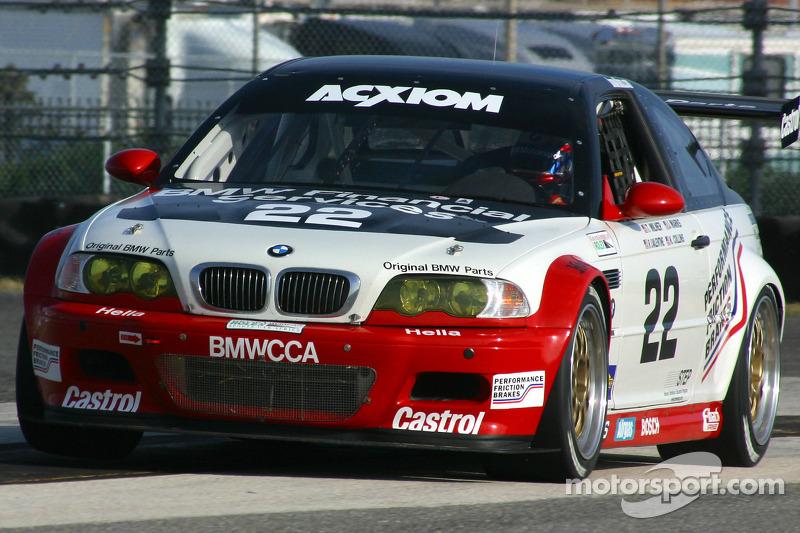 Prototype Technology Group BMW M3 : Justin Marks, RJ Valentine, Tom Milner, Kelly Collins