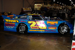 #25 Late Model, driven by David Williams