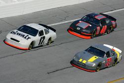 Matt Kenseth, Scott Wimmer and Sterling Marlin