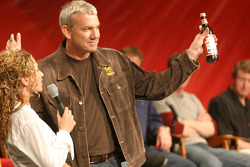 Dale Jarrett draws the #1 bottle good for the Bud Shootout pole