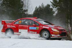 Daniel Carlsson and Mattias Andersson