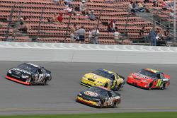Kurt Busch, Johnny Sauter, Kyle Busch and Jeff Gordon