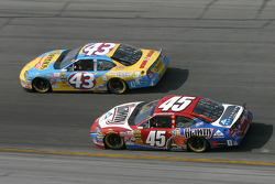Jeff Green y Kyle Petty