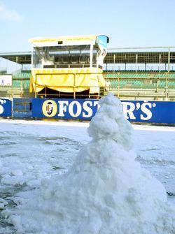 Renault snowman