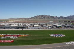 View of Las Vegas Motor Speedway