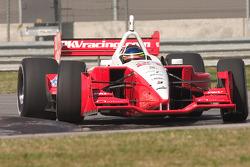 Cristiano da Matta tests the PKV Racing Lola