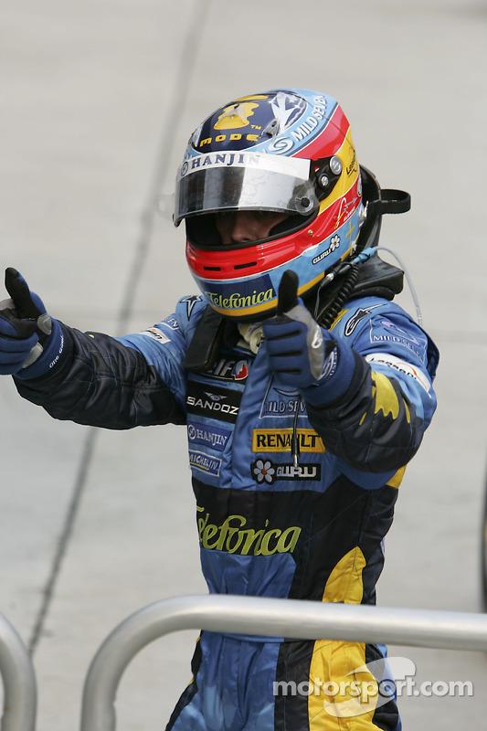 Ganador de la carrera Fernando Alonso