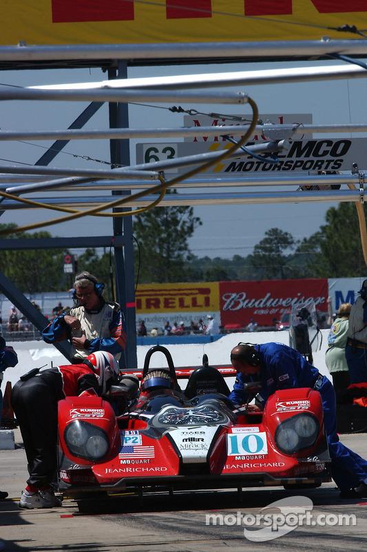 #10 Miracle Motorsports Courage C-65 AER: Chris McMurry, Jeff Bucknum, Ian James
