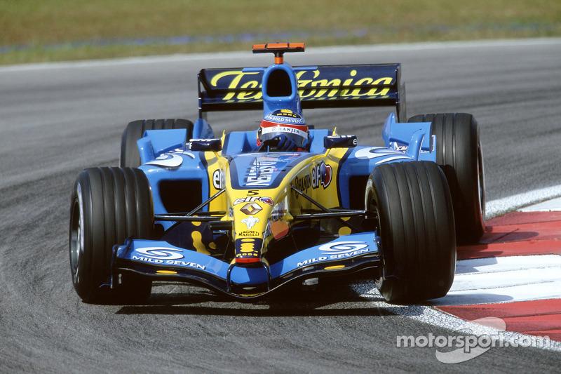 2005 : Fernando Alonso, Renault R25