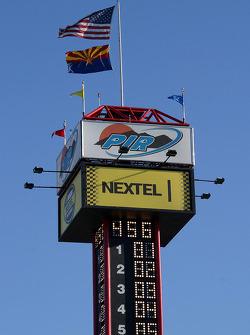 Scoring tower at Phoenix International Raceway
