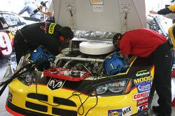 Work on Scott Wimmer's car