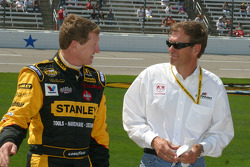 Bill Elliott and Ray Evernham