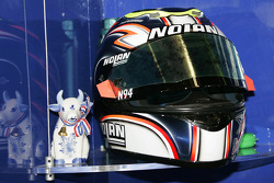 Helmet of Marco Melandri