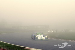The race started despite poor visibility and by the time the cars reached Les Combes on lap 1 the #17 Pescarolo Sport car of Jean-Christophe Boullion, Erik Comas, Emmanuel Collard was in the lead.