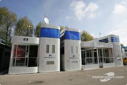 Williams-BMW hospitality area