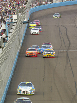 Scott Wimmer, Clint Bowyer, Jeff Green, Ricky Rudd and Mike Wallace