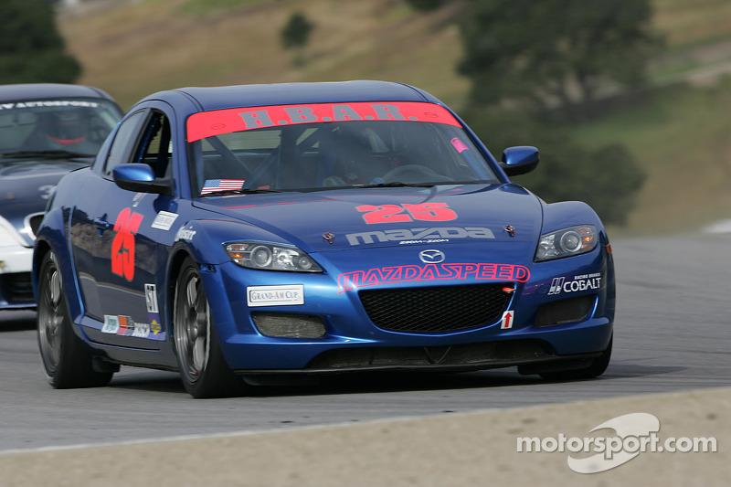 HBAR Motorsports Mazda RX-8 : Nick Gurucharri, Éric Molin
