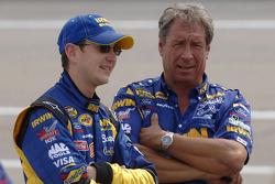 Kurt Busch and Jimmy Fennig