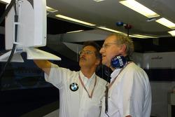 Dr Mario Theissen and Prof Burkard Goeschel