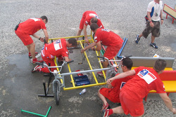 Carrier assembling teams