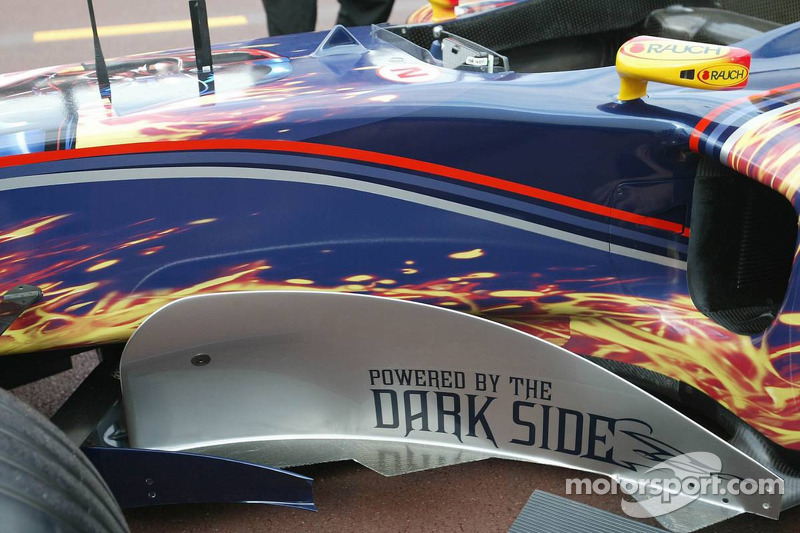 Star Wars livery on the Red Bull Racing