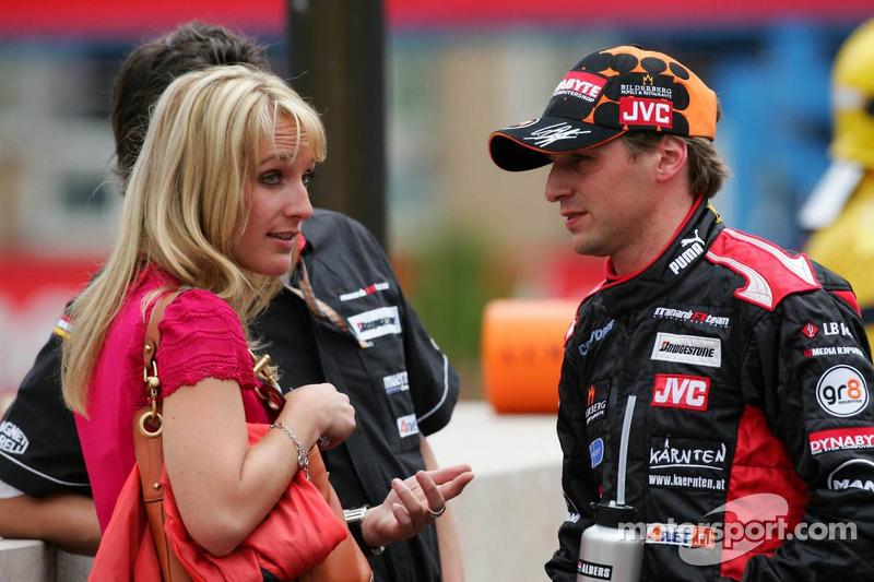 Christijan Albers and girlfriend Liselore
