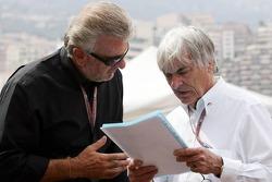 Willi Webber and Bernie Ecclestone
