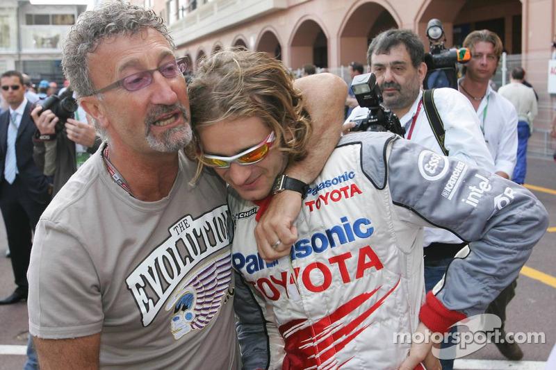 Eddie Jordan y Jarno Trulli