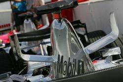 Detail of the McLaren