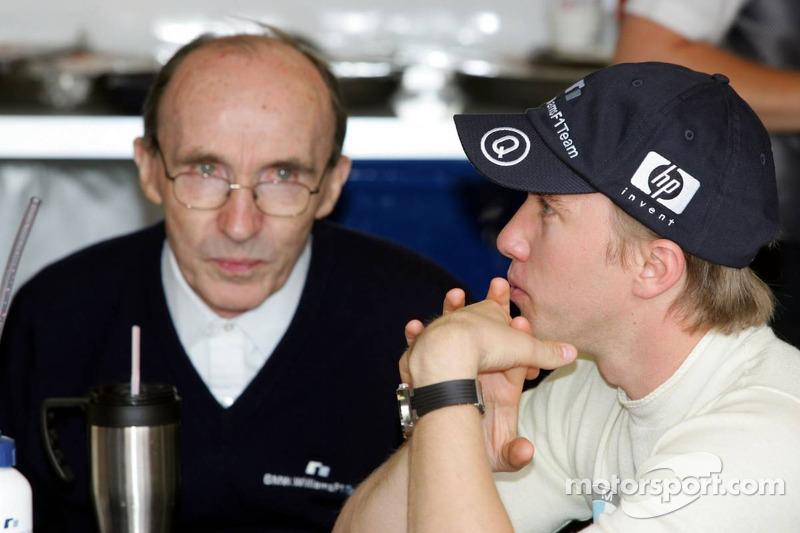 Frank Williams y Nick Heidfeld
