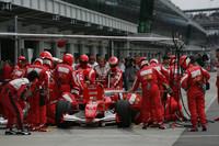 Pitstop para Michael Schumacher
